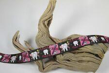 "Sale!...3 Yards Printed Single Sided 7/8"" Tooth Fairy Grosgrain Ribbon Lisa"