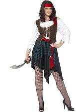 Pirate Lady Costume, US Size 12-14, Pirate Fancy Dress/Cosplay #CA