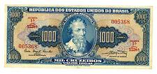 Brazil ... P-173a ... 1.000 Cruzeiros ... ND(1961) ... *XF/AU*