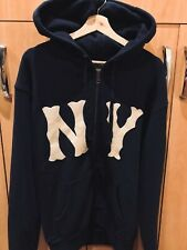 Gucci x NY Yankees Zip-Up Hoodie Limited Edition Sweatshirt Size S with Receipt