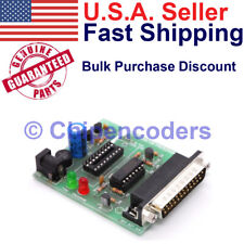 Microchip Pic 8 Amp 18 Pin Serial Chip Ic Programmer