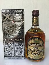 CHIVAS REGAL  12 years old  75cl 43% - 86 Proof Scotch Whisky Aberdeen Vintage