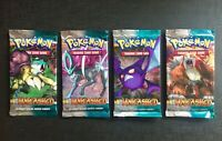 Pokemon Booster Pack Eng HS Unleashed Sealed and Unweighed - Set