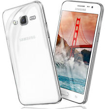 Silikon Case für Samsung Galaxy Grand Prime Schutz Hülle Transparent Back Cover
