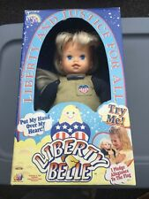 Vintage 2000 Liberty Belle Doll 4th of July Patriotic Toy Pledge of Allegiance