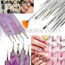 20pcs Nail Art Design Painting Drawing Dotting Pen Brushes Tips Tool Set Kit Hot