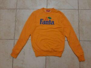 Vintage Retro Style Logo Primark Official Coca Cola Jacket FANTA Sweatshirt