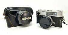 Konica Auto S Rangefinder Film Camera / Hexanon f1.9 47mm