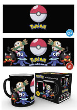 Pokemon Sun and Moon Rowlett Litten Popplio Heat Changing Mug Gift