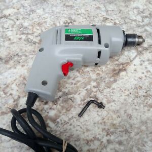 Vintage Skil 1/4 Inch Drill Model 501 - Type 3 Trigger Speed Control 0-2100 RPM