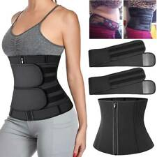 Waist Trainer Compression Sweat Belt Belly Control Weight Loss Slim Body Shaper