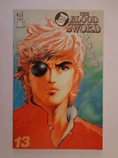 The Blood Sword MA Wing Shing M Baron T Wong #13 Jademan Comics August 1989 NM