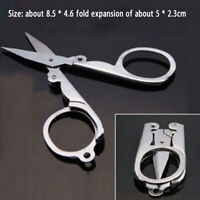 Stainless Steel Handy Folding Pocket Travel Small Cutter Crafts Sewing Scissors