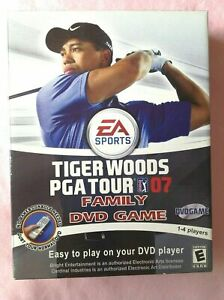 EA Sports Tiger Woods PGA Tour Family DVD Game NEW SEALED