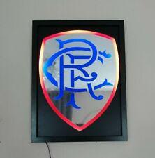 Rangers FC RFC LED illuminated wall sign