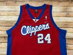 Nike LOS ANGELES CLIPPERS Jersey ANDRE MILLER 2002-03 Authentic Swingman NBA 2XL