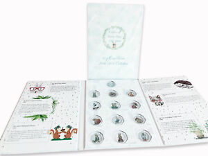 2016 2017 2018 Beatrix Potter 50p Fifty pence Coin Album folder collecting pack