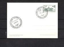 Ef/ Italie    carte   journée du timbre  bateau  navire      1971