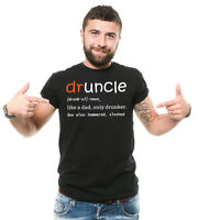 Funny Uncle T-shirt Druncle Funny Mens Tee Shirt Gift for Uncle Mens Funny Tee