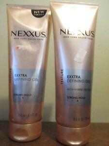 2x NEXXUS Exxtra defining Gel Superior Hold Sculpting gel strong hold 8.5 oz