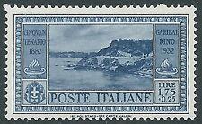 1932 REGNO GARIBALDI 1,75 LIRE MNH ** - E59