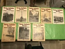 LOT OF 8 1920's TRACTOR AND GAS ENGINE REVIEW MAGAZINE FARM EQUIPMENT CASE ADS