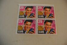 ELVIS PRESLEY // U.S. STAMP SHEET OF 4 // 29 CENT STAMPS // >>> NEW <<<