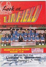 Linfield v Glenavon 1996/7 Gold Cup