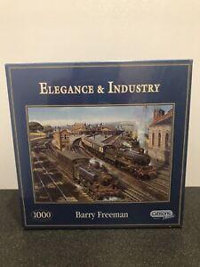 "Gibsons 1000 Pc Jigsaw ""Elegance & Industry"" (Barry Freeman) NEW & SEALED"