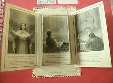 """CANIVET, Holy lace card, santino merlettato, He!ligenbild """"Ed. Letaille N°16"""