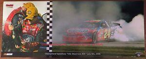 JEFF GORDON 2006 CHICAGOLAND SPEEDWAY USG SHEETROCK 400 NASCAR WIN 8 X 20 PHOTO