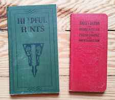 Helpful Hints in English & Faulty Diction Language dictionary grammer vintage