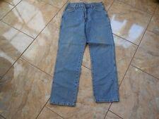 H0364 Wrangler Idaho Jeans W34 Mittelblau ohne Muster