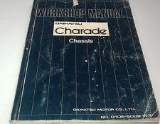 1980  DAIHATSU CHARADE  Factory Workshop Manual