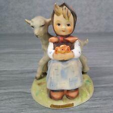 "RARE Vintage Hummel Goebel Figurine #182 Good Friends Girl Sheep 4.25"" Germany"