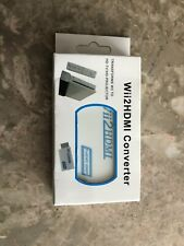 Nintendo Wii to Hdmi Wii2Hdmi Full Hd Tv Converter Audio/Video Output Adapter