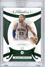 BLAKE GRIFFIN 2019-20 PANINI FLAWLESS BASKETBALL #7 EMERALD DIAMOND GEM #3/5