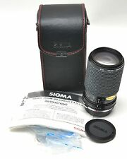 【EXC++++】SIGMA 80-200mm f3.5 Zoom Macro Lens For Olympus - Japan
