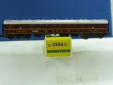 Minitrix N 51 3154 51 DSG Schlafwagen WR4ü(e)-28, rot 4achsig OVP (y3565)