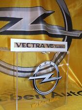 "Original Opel Schriftzug/Aufkleber "" Vectra V6 Turbo "" Neu 5177425"