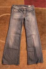 Diesel Womens YBO Wide Leg Jeans size 24 x 30