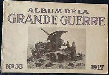 Album imprimé en  photographié en noir et blanc en édition allemand N°33 1917 A5