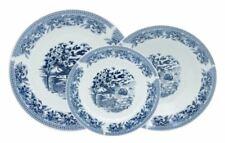 Servizio di Piatti da Tavola in Porcellana Old England Blu 18 Pezzi 6 Persone