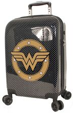 WONDER WOMEN HARD CASE SMALL CARRY ON - BRAND NEW RRP$219