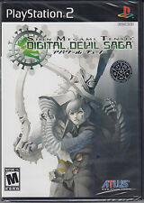 Shin Megami Tensei Digital Devil Saga PS2 Sony PlayStation 2 Brand New Sealed
