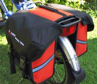 "Pannier for 20"" Wheel bike, folding bike, folding e-bike, electric bike"
