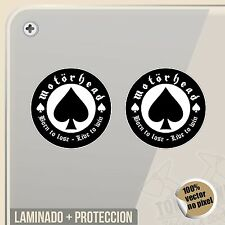 PEGATINA MOTORHEAD LEMMY KILMISTER ACE OF SPADES STICKER DECAL ADESIVI
