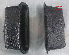 Real Dry Carbon Fiber Door Part 2PCs For Honda Civic EG 92-95