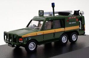 Oxford Diecast 1/76 Scale 76TAC004 - Range Rover RAF St. Mawgan - Green