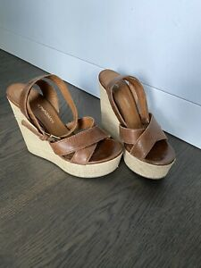 Emporio Armani Wedges Size 38Eu Leather